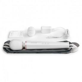 Белый массажёр-жезл le Wand с 20 режимами вибрации
