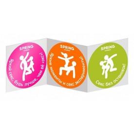 Классические презервативы SPRING CLASSIC - 100 шт.